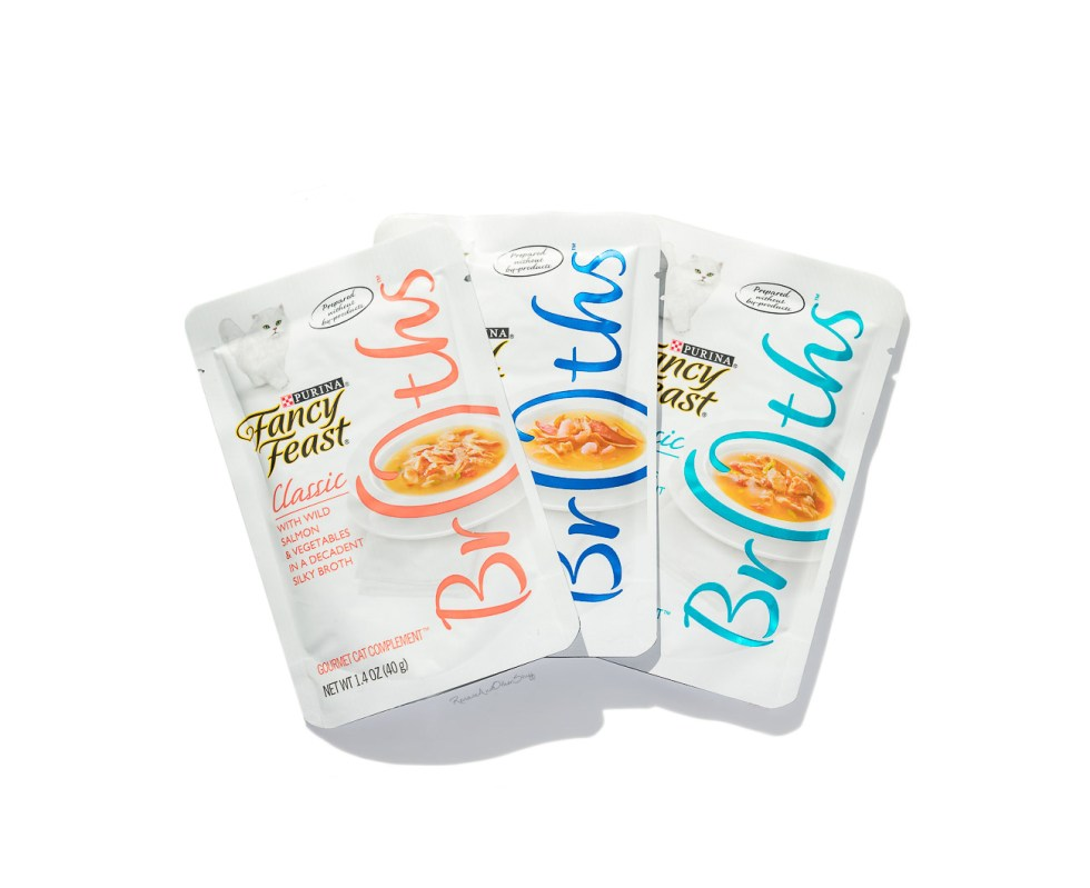 Purina Fancy Feast Broths Classic Collection