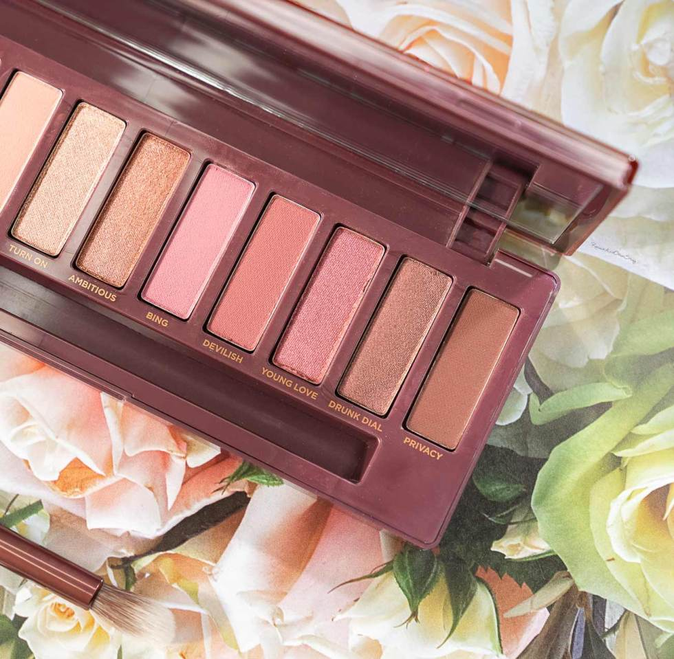 Urban Decay Naked Cherry Eyeshadow Palette Review - Pout