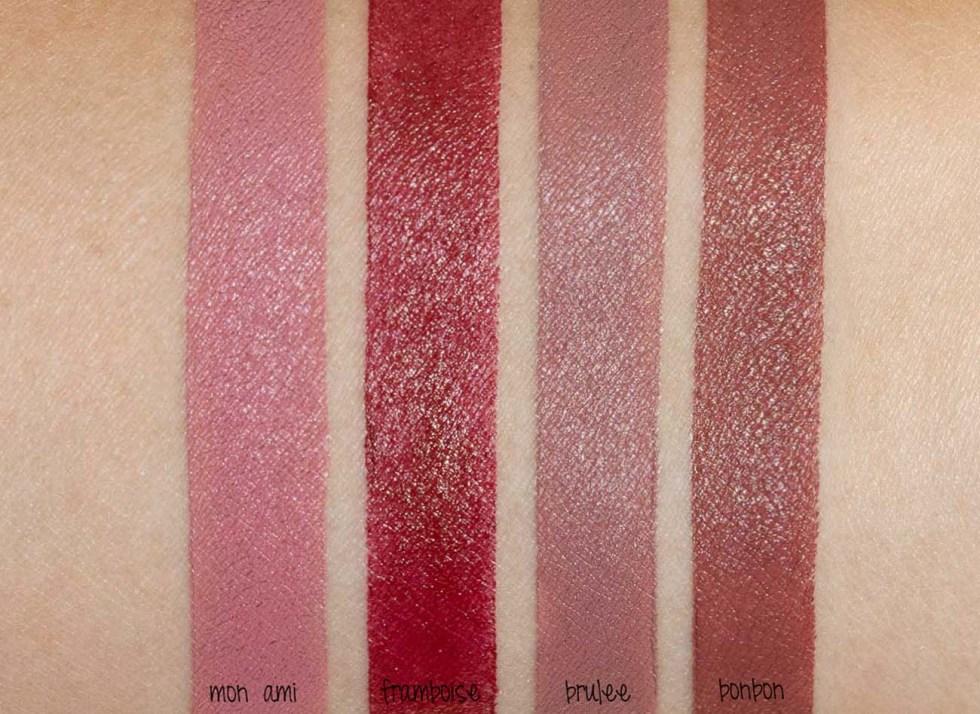stila matte'ificent lipstick swatch