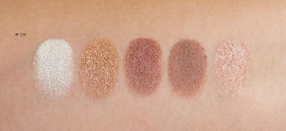 Natasha Denona Eyeshadow Palette 5 in #04 swatch