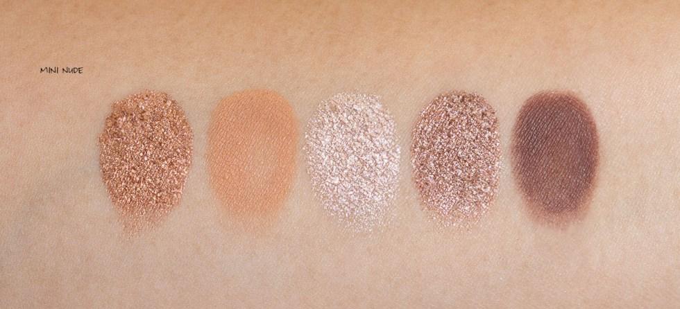 Natasha Denona Mini Nude Eyeshadow Palette swatch