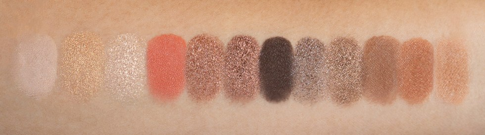 Urban Decay Naked Reloaded eyeshadow swatch