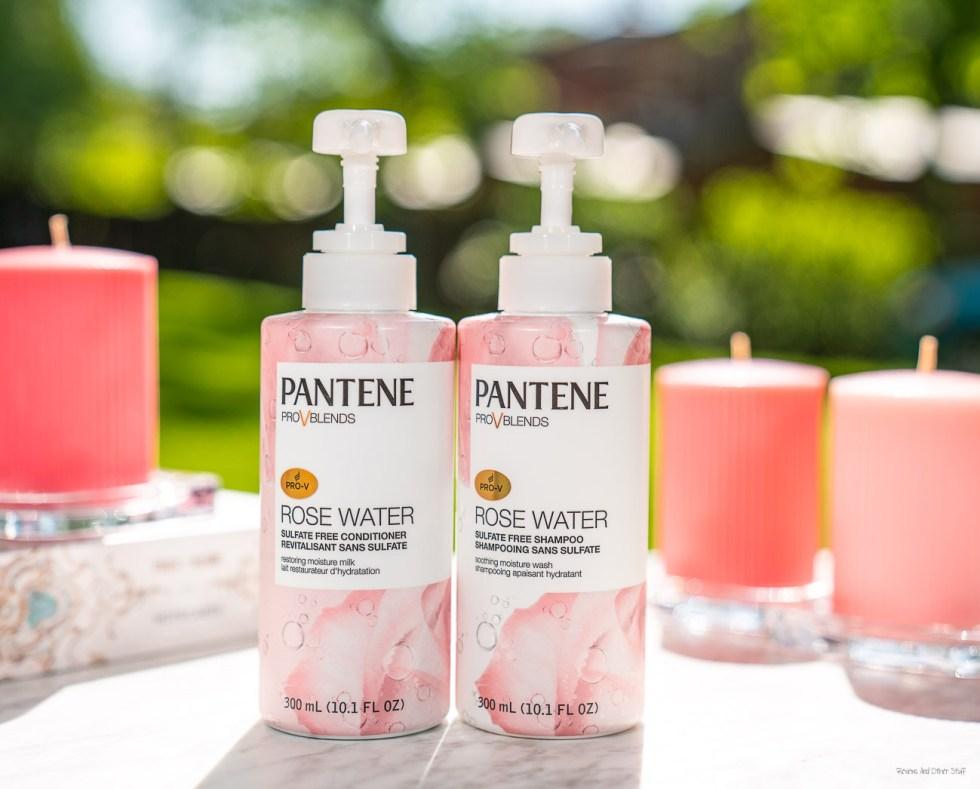 pantene rose water collection