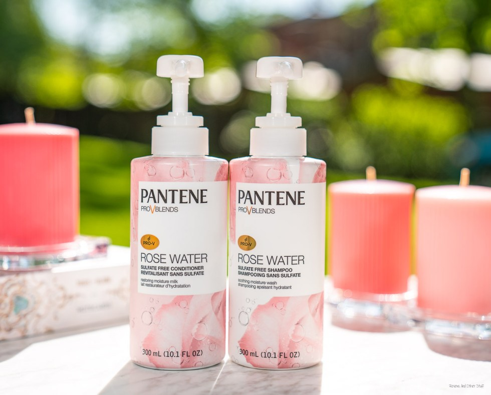 pantene rose water collection
