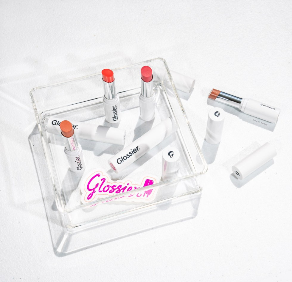 glossier generation g sheer matte lipstick new formula like, zip, crush