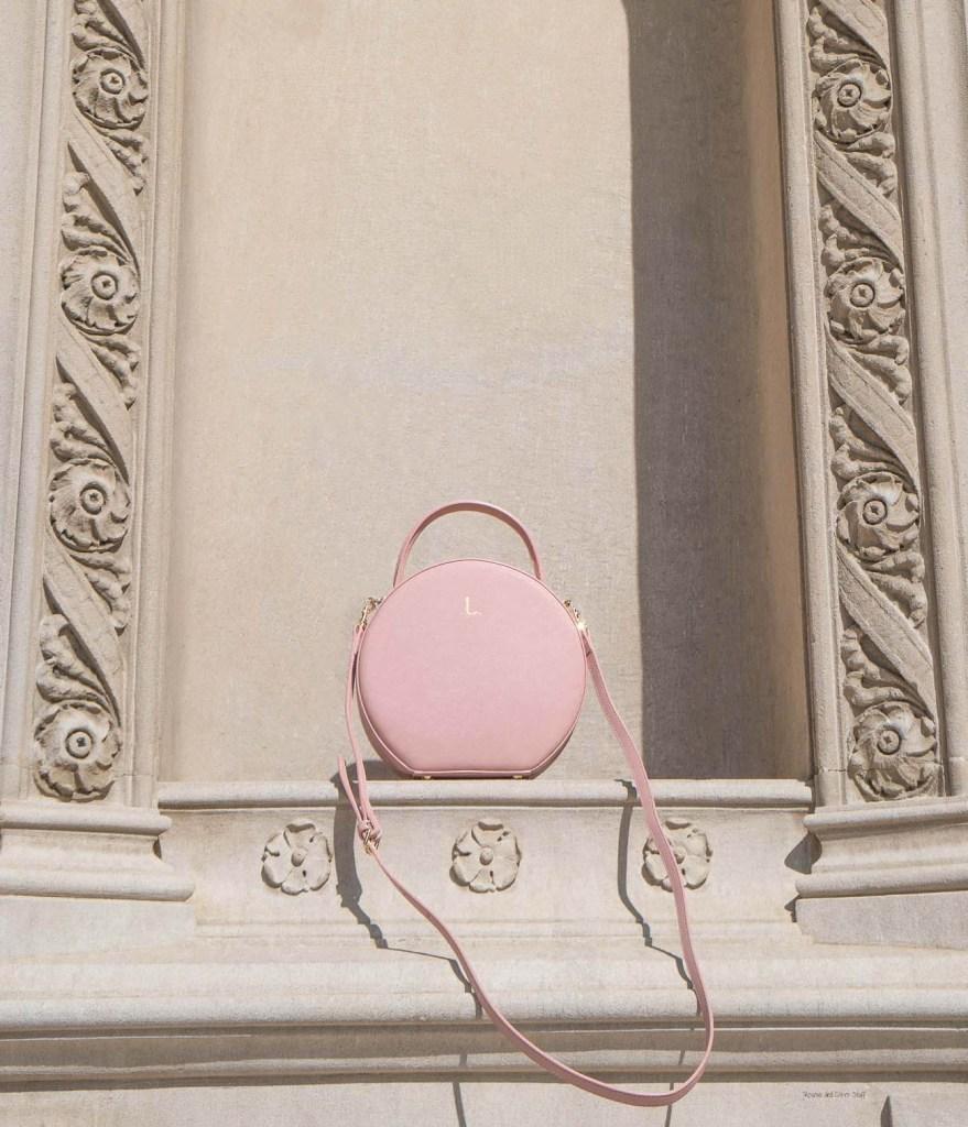 the daily edited pink circle bag