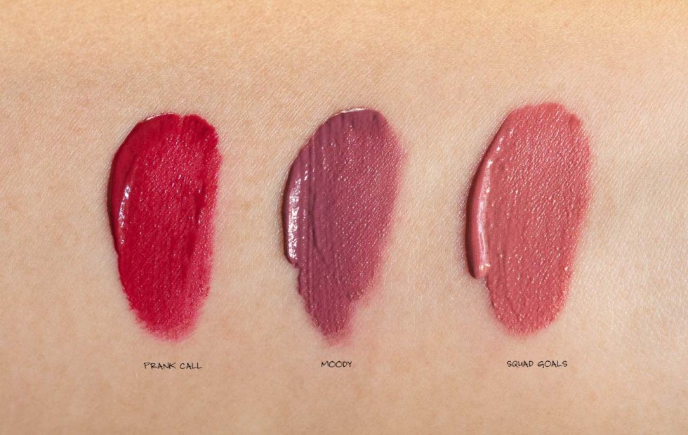nyx powder puff lippie lip cream swatch