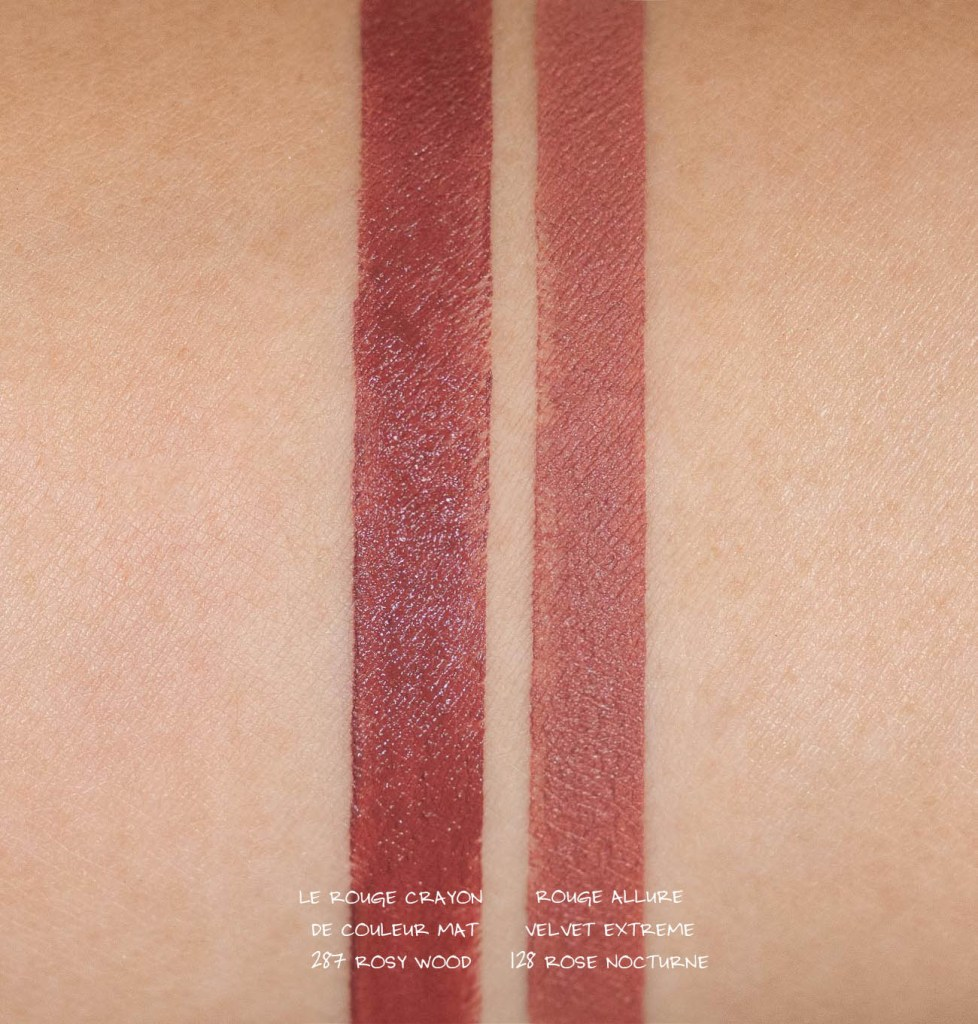 Chanel Le Rouge Crayon de Couleur Mat in 287 Rosy Wood
