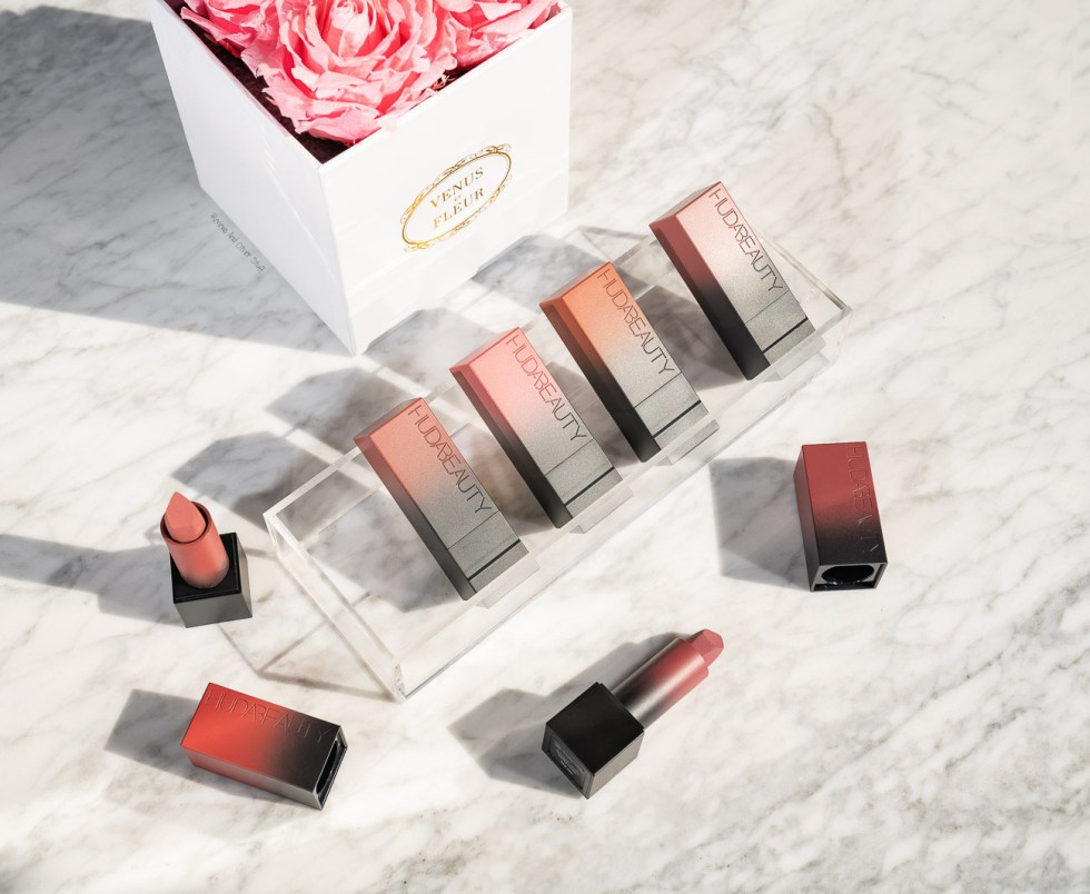 Huda Beauty Power Bullet Matte Lipstick swatch