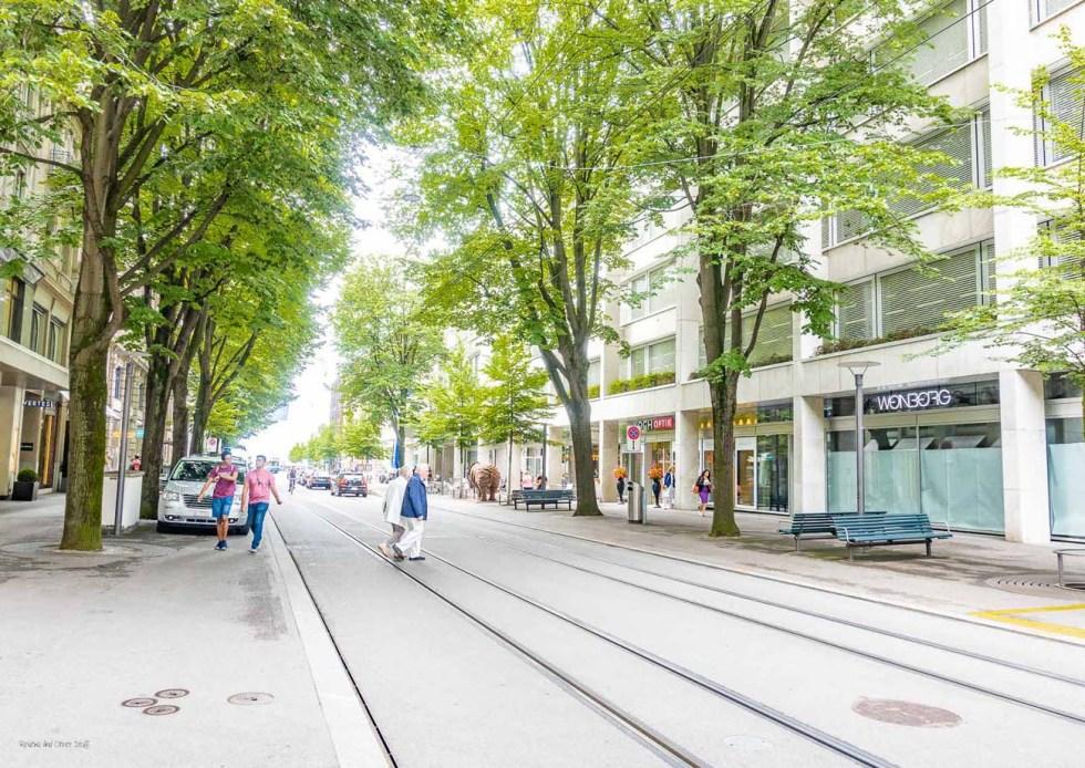zurich bahnhofstrasse review