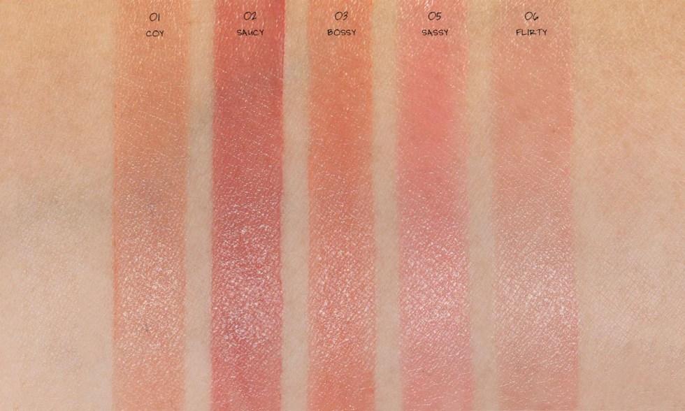 Kaja Beauty Cheeky Stamp Blendable Blush swatch