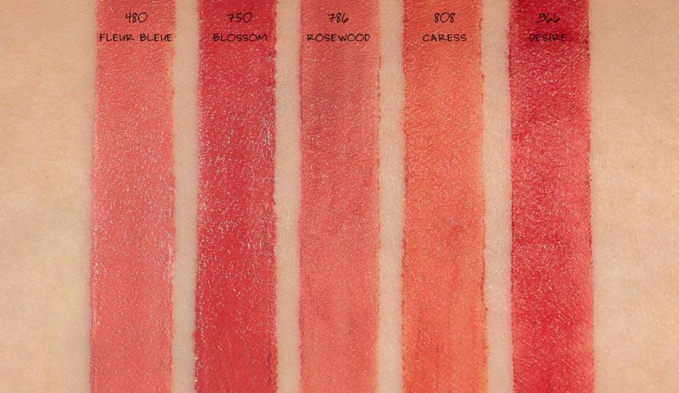 Dior Rouge Dior Ultra Care Lipstick & Liquid Lipsticks swatches