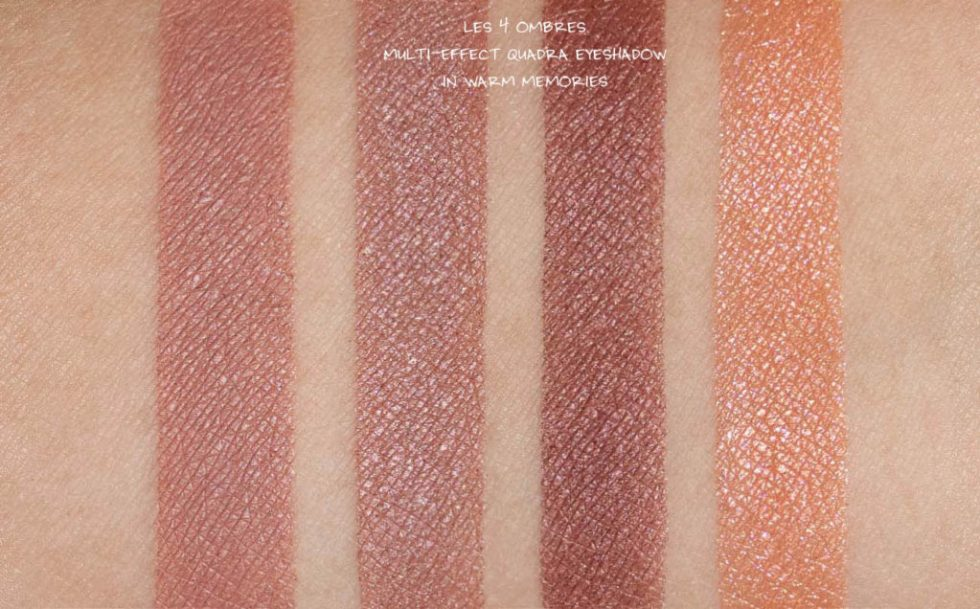 chanel spring summer 2020 makeup warm memories eyeshadow review