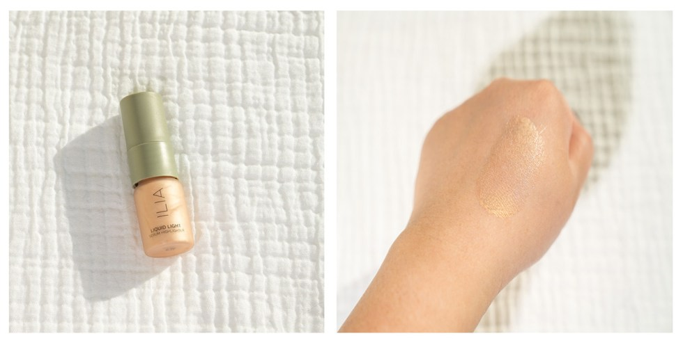 ilia liquid light serum highlighter in nova review