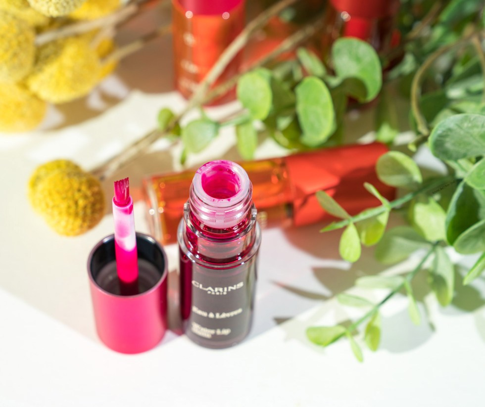 clarins water lip stain 04 violet water