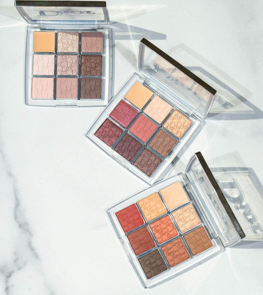 dior backstage eyeshadow palette rosewood neutrals