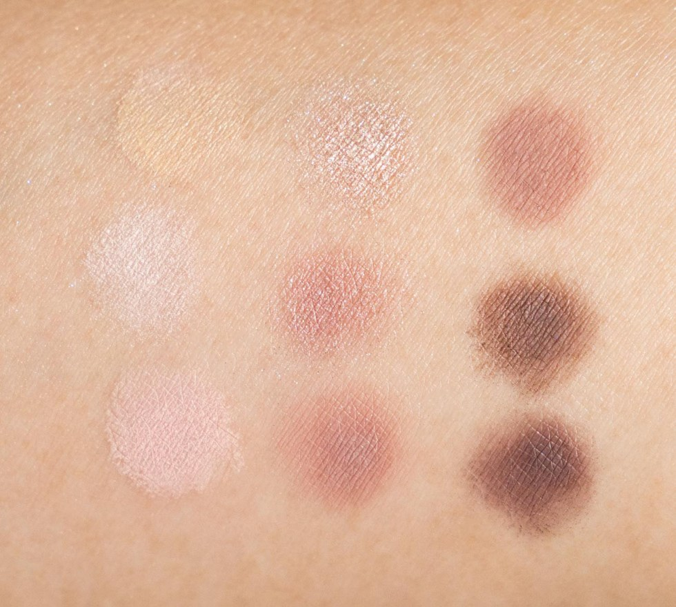 dior eyeshadow palette cool neturals swatch