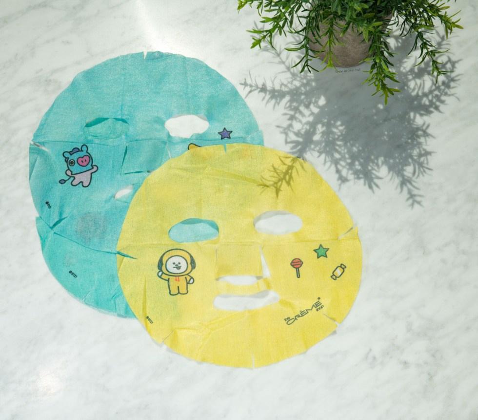 bt21 Printed Essence Sheet Masks