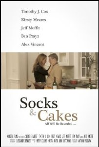 socks and cakes poster