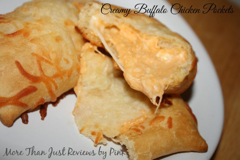 Creamy Buffalo Chicken Pockets