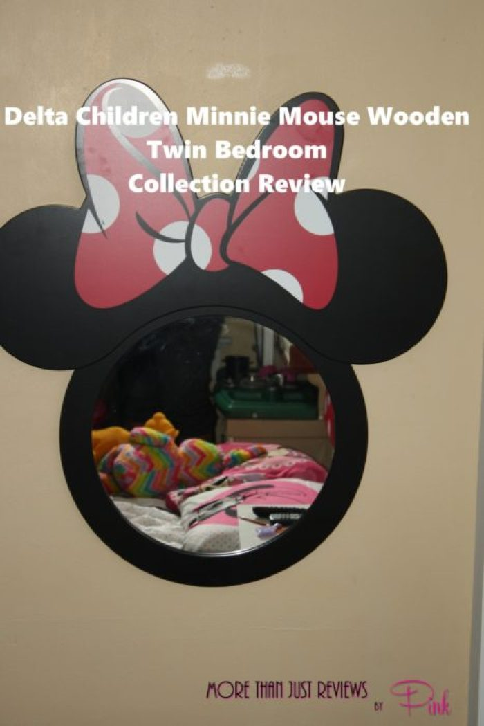 Delta Children Minnie Mouse Wooden Twin Bedroom Collection Review