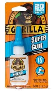 Gorilla Super Glue, 20 g, Clear-min