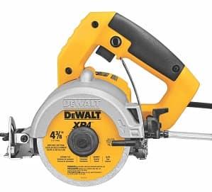 DEWALT DWC860W 4-3 8-Inch Wet Dry Masonry Saw