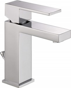 Delta 567LF-PP Modern Single-Handle Bathroom Faucet