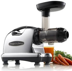 Omega J8006 Nutrition Center Quiet Dual-Stage Slow Speed Masticating Juicer