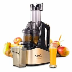 SKG Slow Masticating Juicer Extractor with Wide Chute