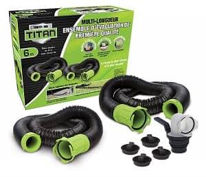 Titan 20 Foot Premium RV Sewer Hose Kit