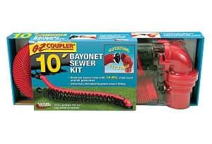 Valterra D04-0114 EZ Coupler Bayonet Sewer Hose Kit