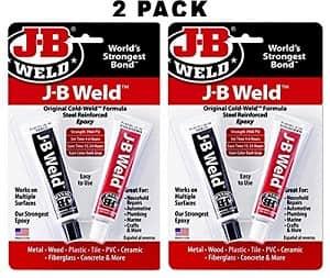 J-B Weld 8265S Original Steel Reinforced Epoxy Twin Pack