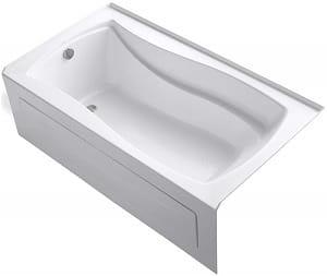 KOHLER K-1229-LA-0 Mariposa 5.5-Foot Bath, White