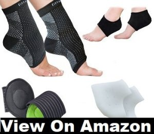 Plantar Fasciitis Foot Sleeve by Fittest Pro