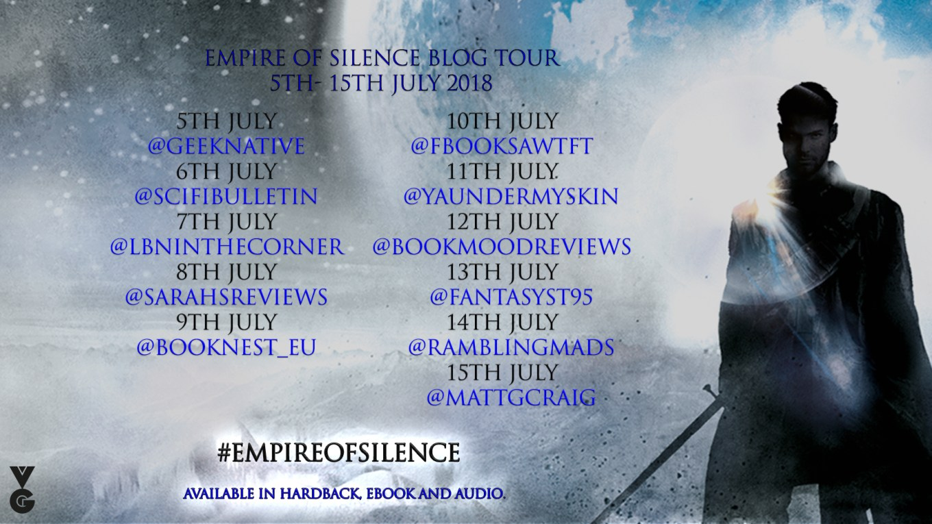 empire of silence blog tour banner