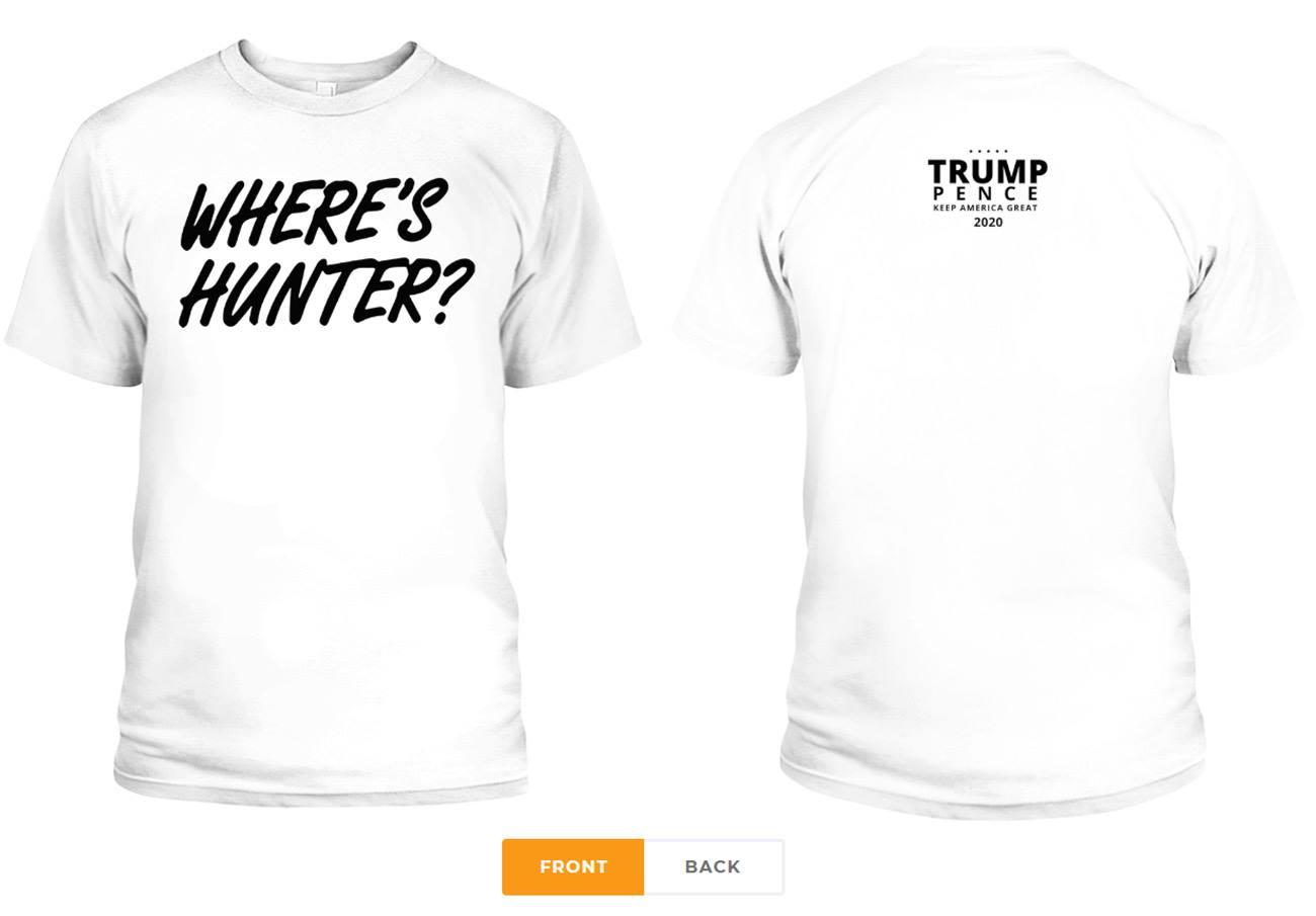 Where S Hunter Biden T Shirt