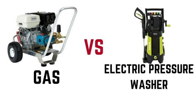 Gas-vs-electric-pressure-washer