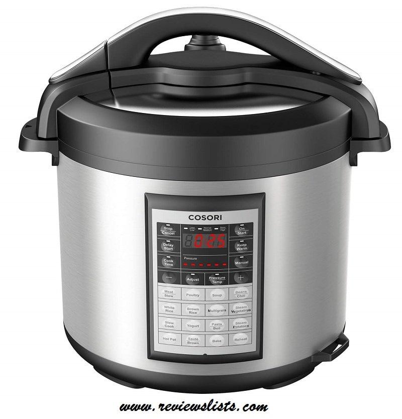 COSORI 8 Quart 8-in-1 Programmable Pressure Cooker