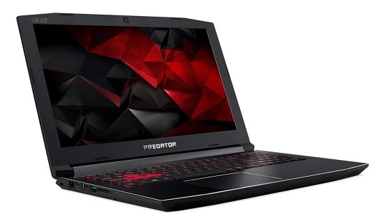 best gaming laptop under $1000 acer predator