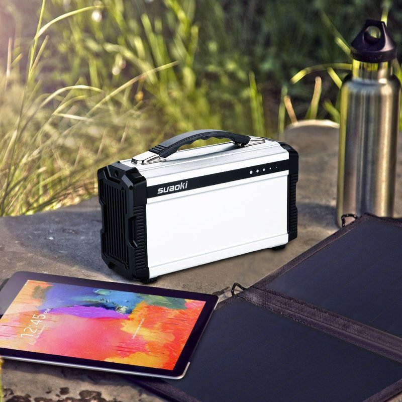 Suaoki Portable Solar Generator Review