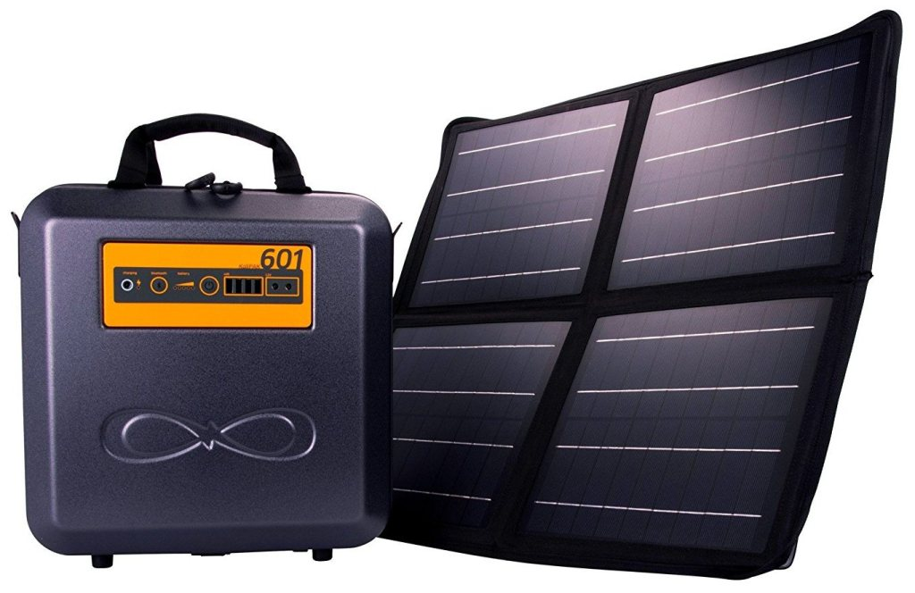 Smart Power Source For Camping & Hiking