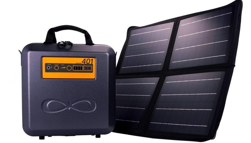 Weather-Proof Portable Solar Generator