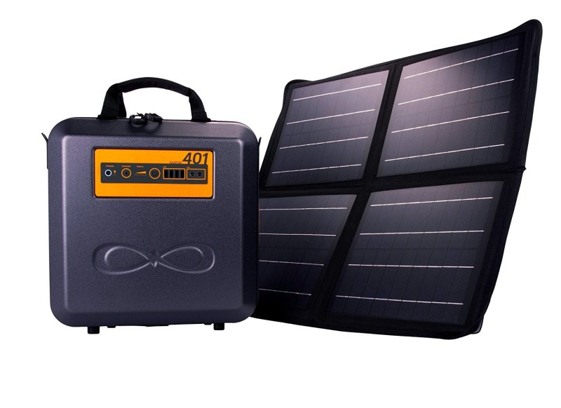 Weather-Proof Portable Solar Generator