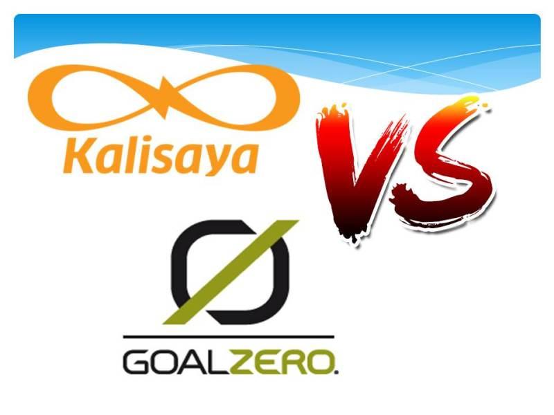 Kalisaya vs Goal Zero