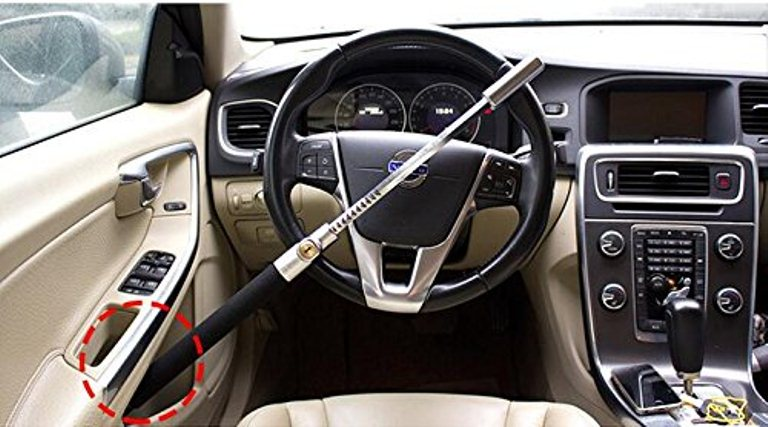 Anti Theft Steering Wheel Lock