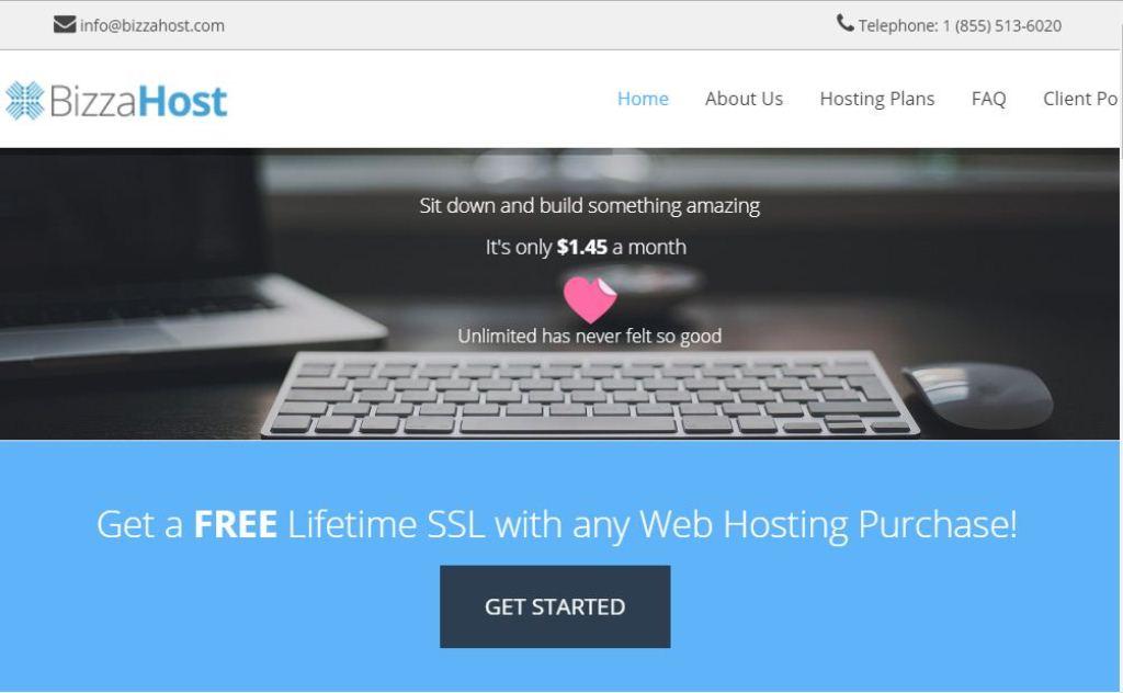 BizzaHost Free HTTPS Certificates