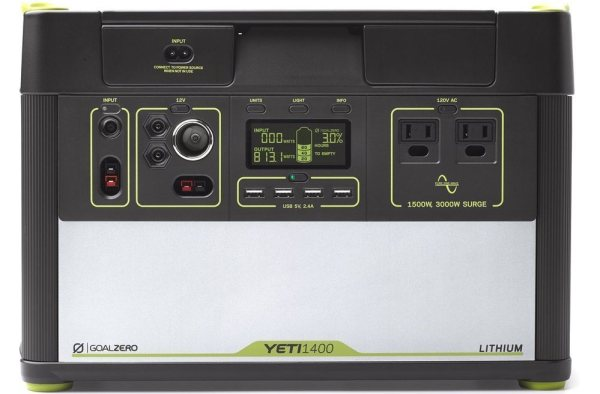 Goal Zero Yeti 1400 Lithium Portable Solar Generator Review