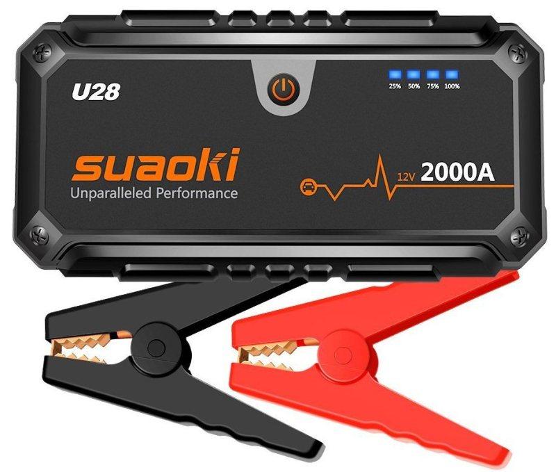 Suaoki Portable Auto Battery Jump Starter