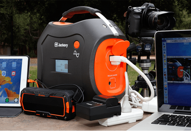 Power Options Of The Jackery PowerPro 500Wh Portable Power Station